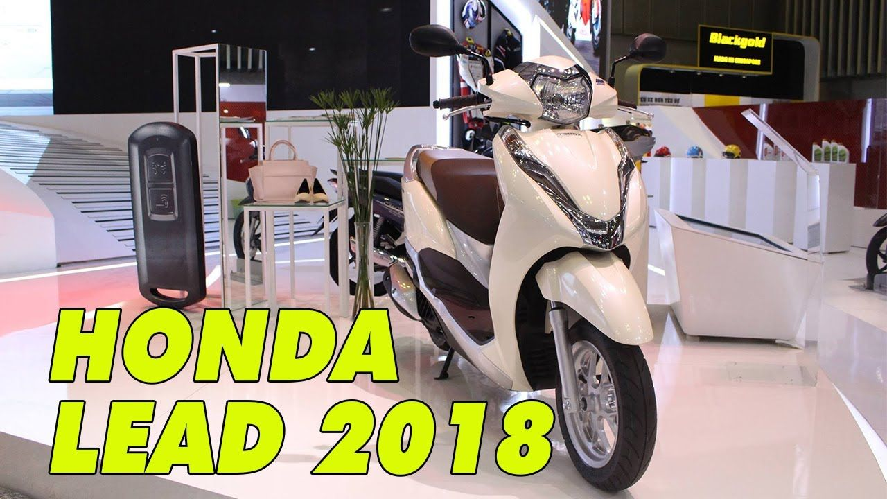 Honda Lead 2018 xe tay ga cốp rộng nhất Vịnh Bắc Bộ được hàng triệu phụ ...