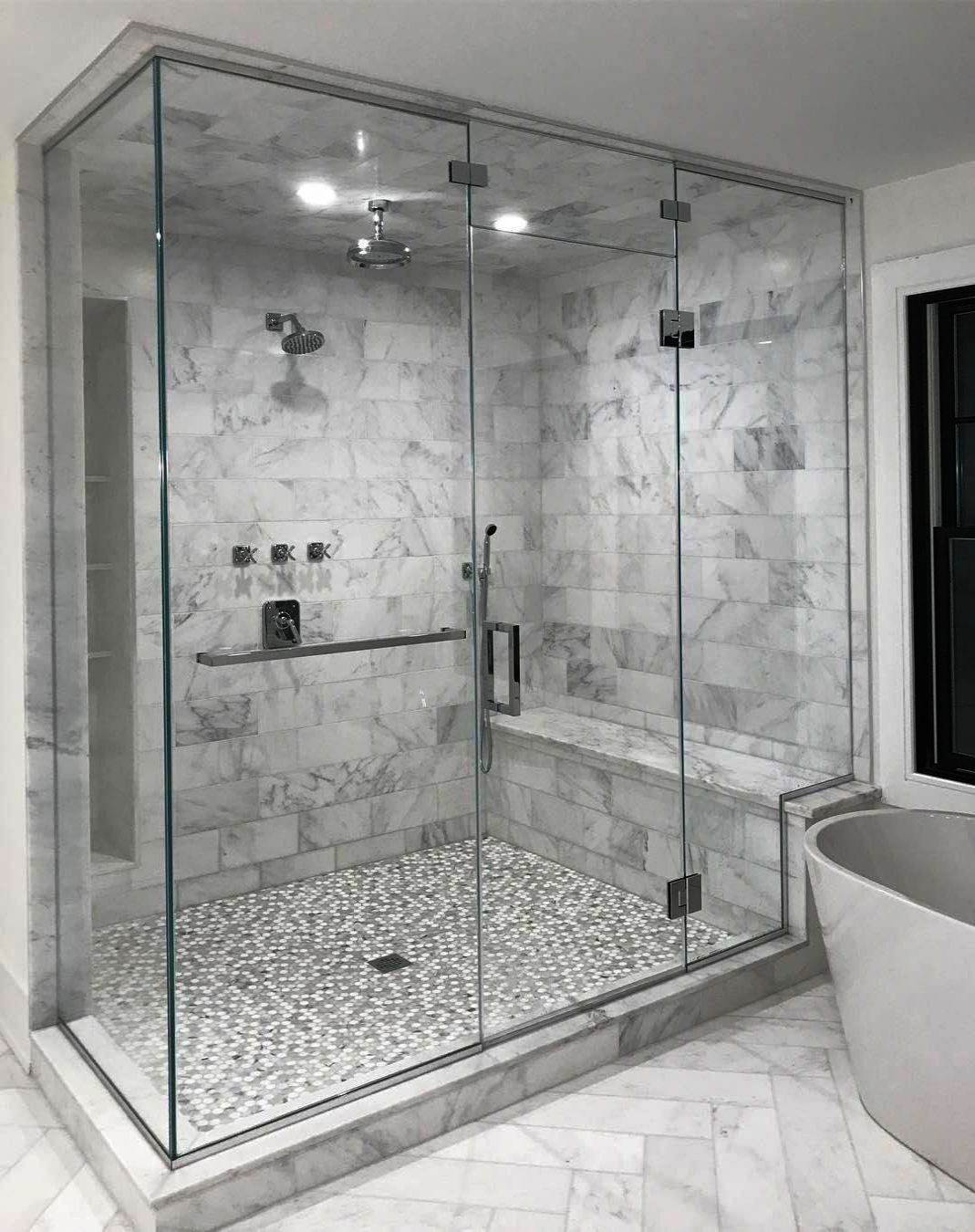 Traditional Master Bathroom Steam Shower Roll In Handicapped Accessible Access I Bathroom Remodel Shower Small Bathroom With Shower Bathroom Remodel Master