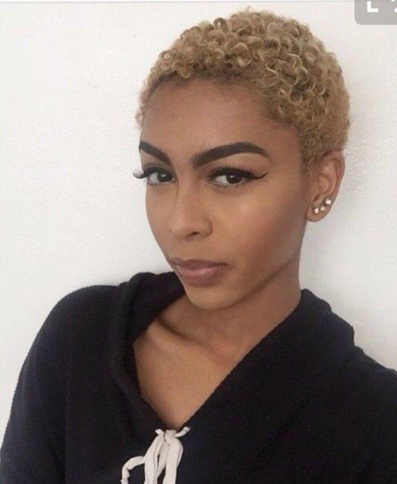 Pin By Telka Johnson On Natural Hairstyles Twa Hairstyles