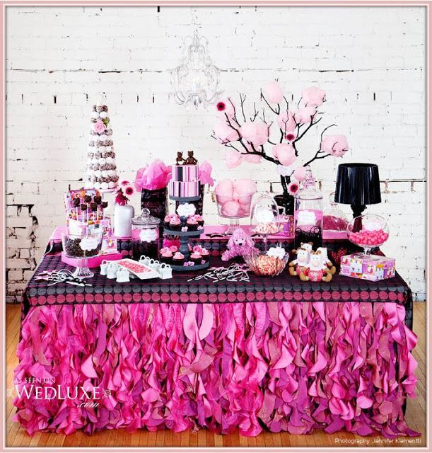 teen party decor luv the table birthday in 2019 pink dessert