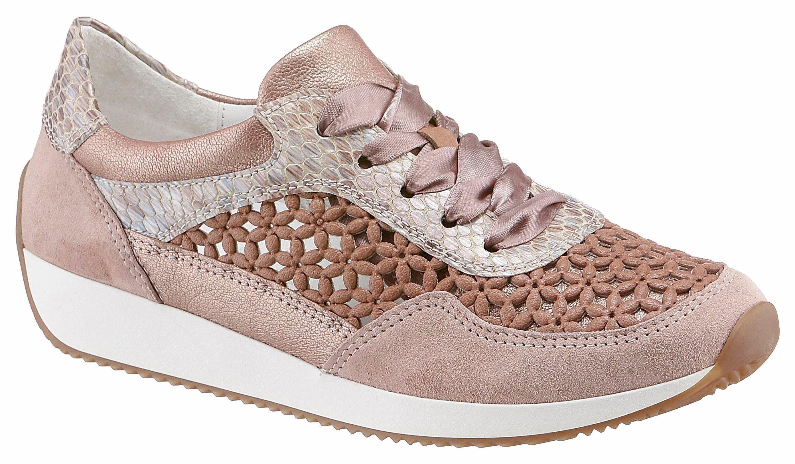 Damen Ara Sneaker, Reptilienprägung schwarz   04030223804945 online ... 5d80e03d86