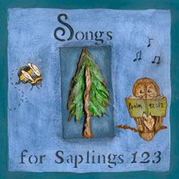 """Songs for Saplings: 123                    """"Songs for Saplings 123"""" is designed to teach your little ones the word of God as they study their numbers.        Parents and teachers will enjoy singing these simple songs with the little """"saplings"""" in their care, as you help your little ones grow in righteousness and become like the cedars of Lebanon. (Ps. 92:12)"""