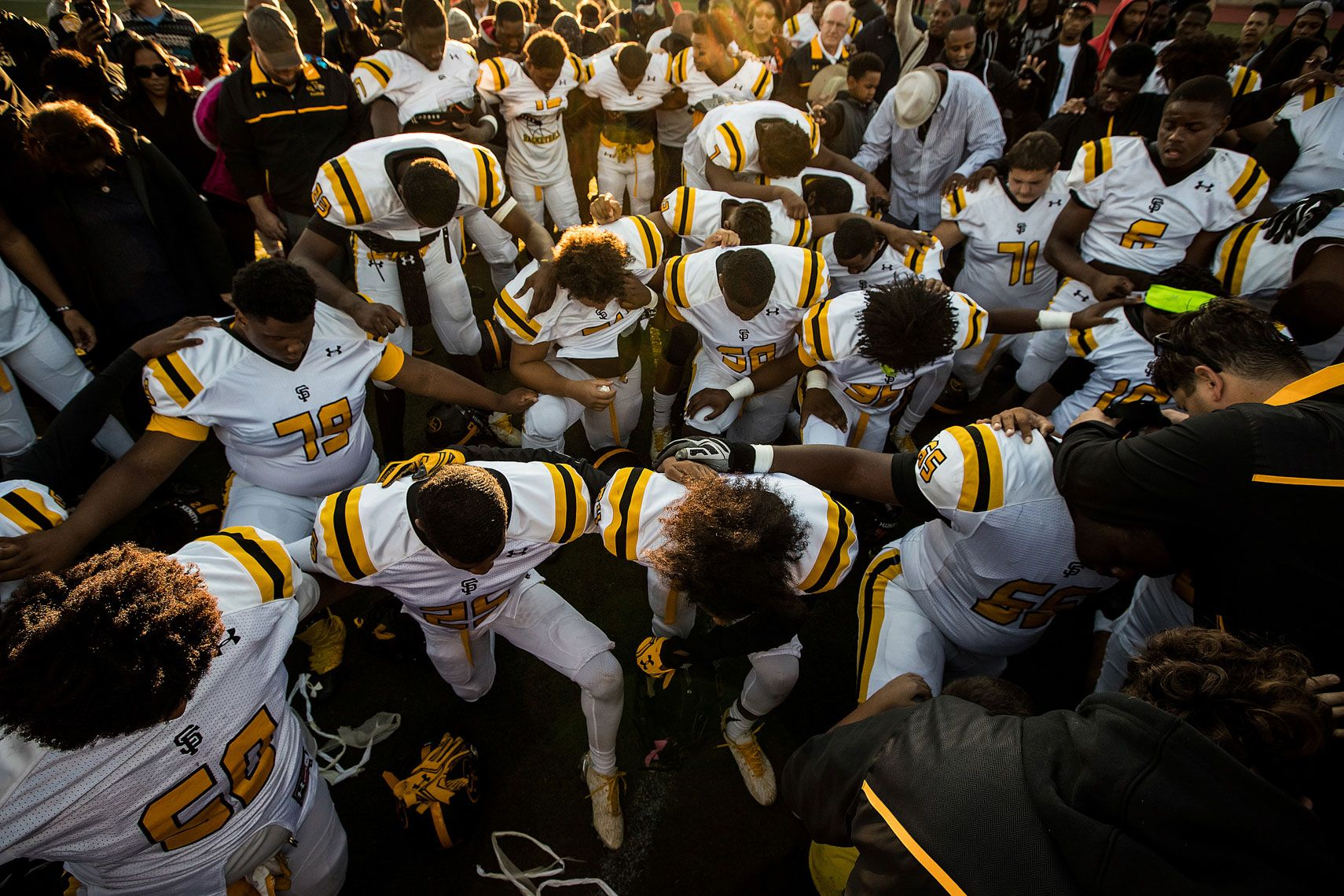 Maryland st frances academy panthers high school football