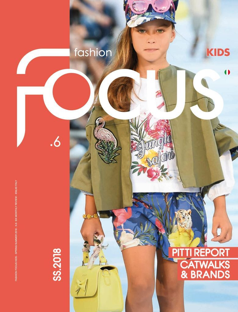 Fashion Focus Kids presents the best children's proposals focusing on the wardrobe for baby, junior and teen age, for both boys and girls. A complete overview of catwalk photos and lookbook images of the most fashionable brands, including reports from the main trade fairs, such as Pitti Bimbo, to introduce the upcoming moods two seasons in advance. Subjects division according to product types and trends, in order to focus on the content in an easy and essential way. Straight from the kidswear wo