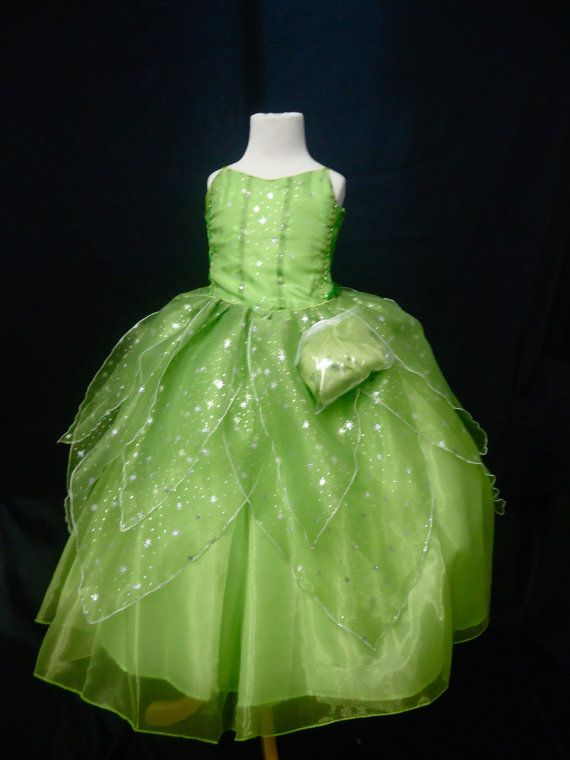 Tinkerbell Costume by CCCRuvi on Etsy, $55.00