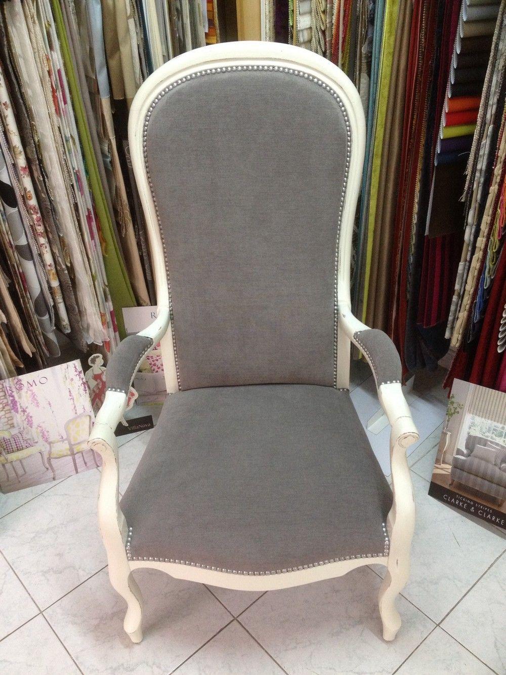 r novation fauteuil voltaire pinteres. Black Bedroom Furniture Sets. Home Design Ideas
