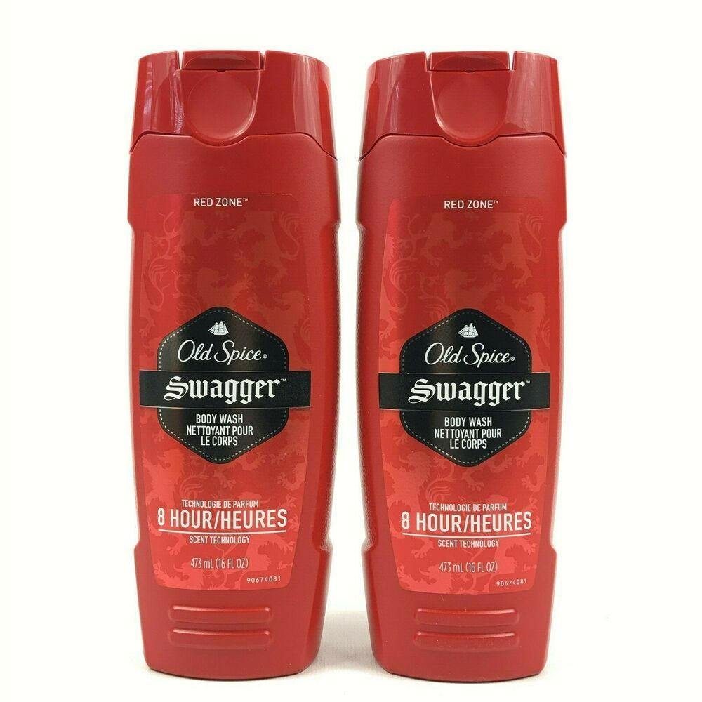 Old Spice Red Zone Body Wash Swagger 16oz 2 Pack OldSpice