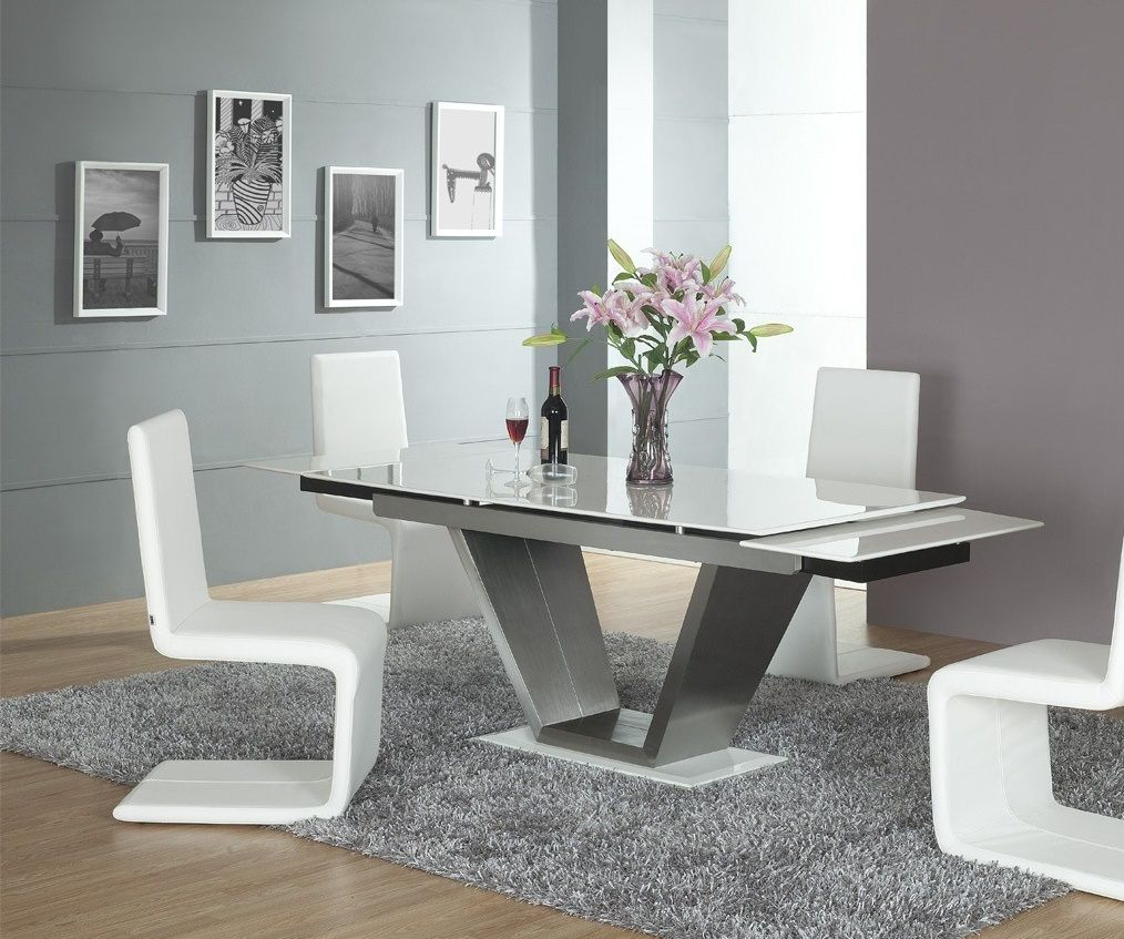 10 Remarkable Dining Tables That Will Steal Your Neighbors Attention Modern Dining Tables Modern Dining Room Set Glass Dining Room Table Contemporary Dining Room Chair