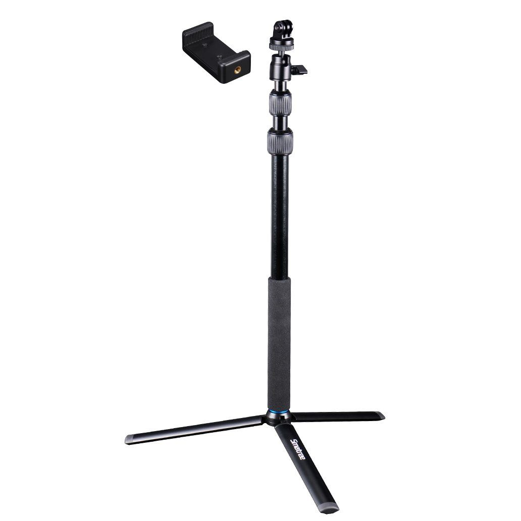 smatree smapole dc selfie stick with tripod stand for gopro hero 5 4 3 3 2 1 session compact. Black Bedroom Furniture Sets. Home Design Ideas