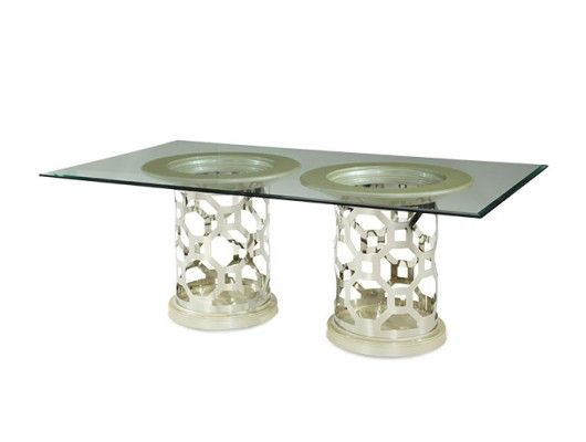 After Eight Pearl Dining Table w/ Rectangular Top http://www.maxfurniture.com/dining/tables-only/after-eight-pearl-dining-table-w-rectangular-top-by-aico.html