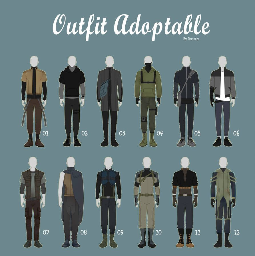 Open 112 casual outfit adopts 42 male by rosariy