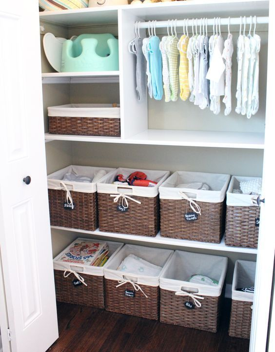 Nursery Closet Organization Ideas For The Perfectly - Schrank Gender