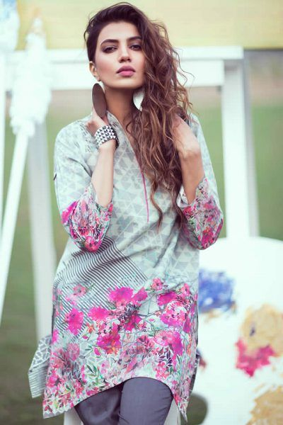 Gul Ahmed Summer Haze Collection 2017, Gul Ahmed Lawn Dresses is part of lawn Design Dress - Pakistani clothing brand Gul Ahmed launched latest summer lawn dresses collection 2017 in vibrant shades, patterns and designs