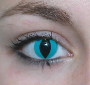 Cat Eye Colored Contacts Cat Contacts Werewolf Contacts Lenses