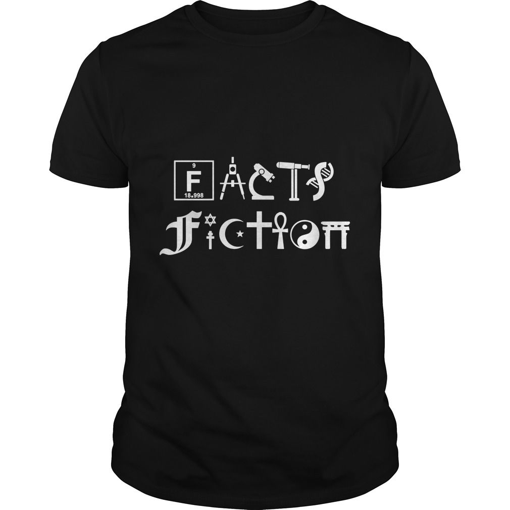 facts vs fiction science religion awesome shirt design awesome shirtscool teesshirt - Cool Tee Shirt Design Ideas