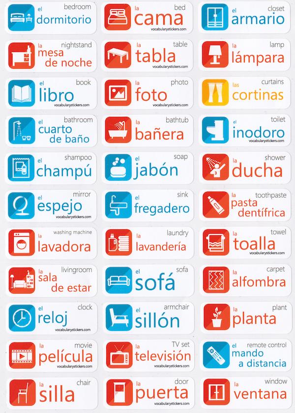 spanish language stickers | language | spanish language, spanish