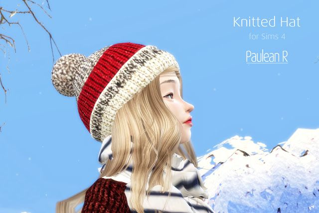 b01e47835ea Sims 4 CC s - The Best  Winter Hats for Males   Females by PauleanR ...
