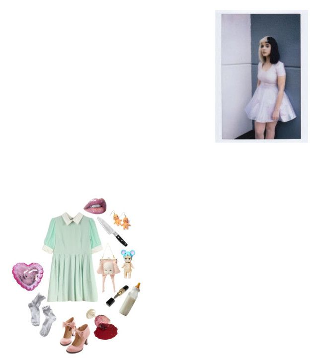 """CRYBABY"" by artangelz ❤ liked on Polyvore featuring Wolf, Hannah Makes Things, women's clothing, women's fashion, women, female, woman, misses and juniors"
