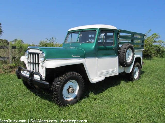 Used Jeeps And Jeep Parts For Sale 1957 Willys Truck Jeep