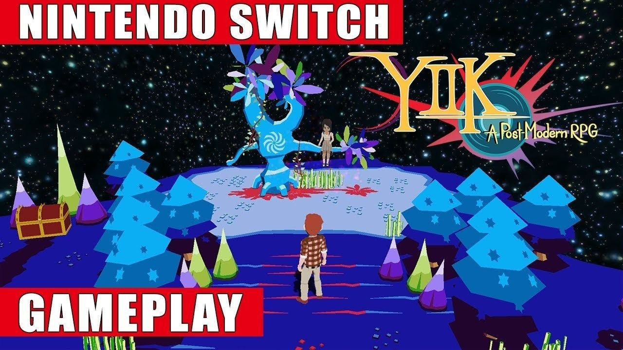 YIIK A Postmodern RPG Nintendo Switch Gameplay Nintendo