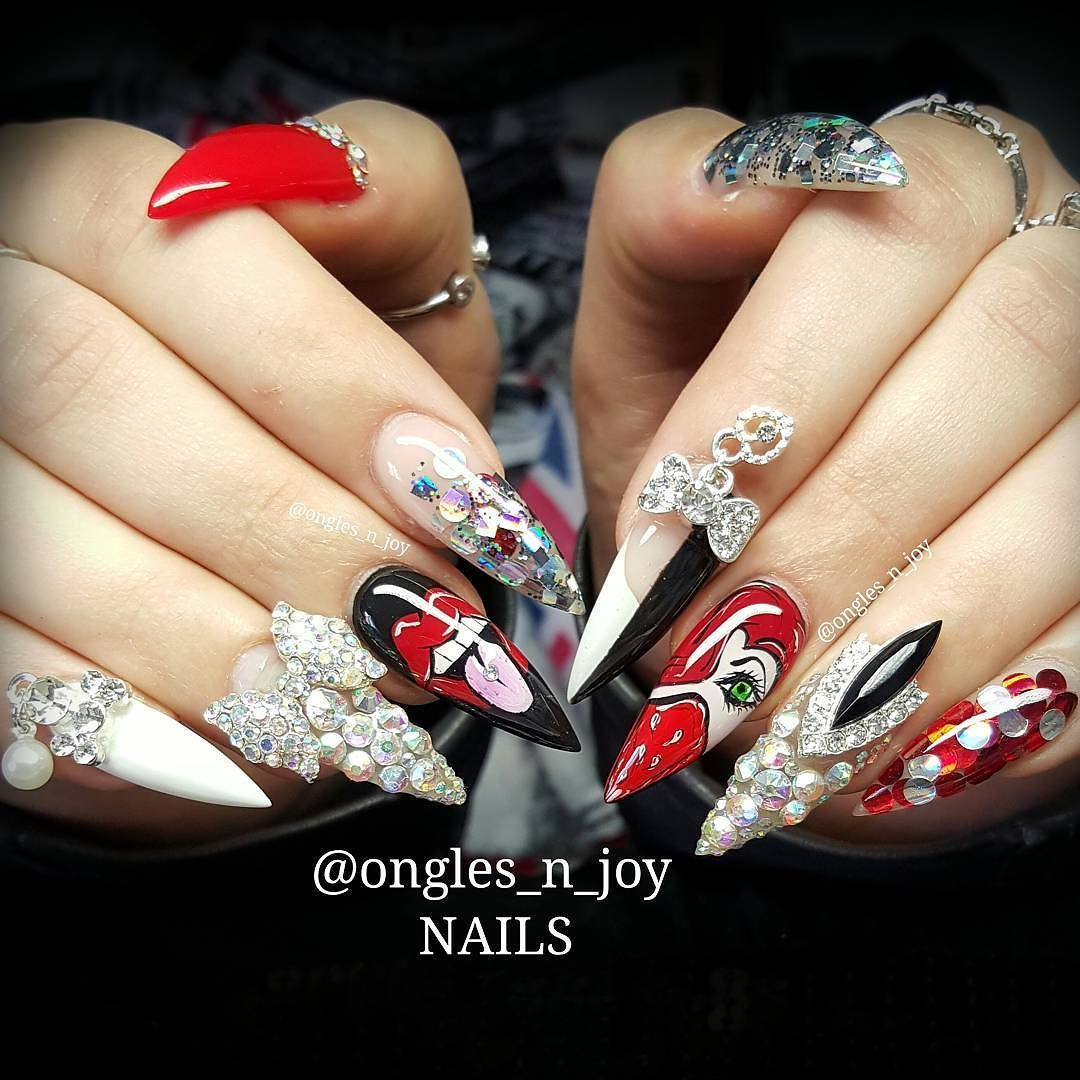glitter from @carofrndzalvrz #nail #nails #nailswag #naildesign ...
