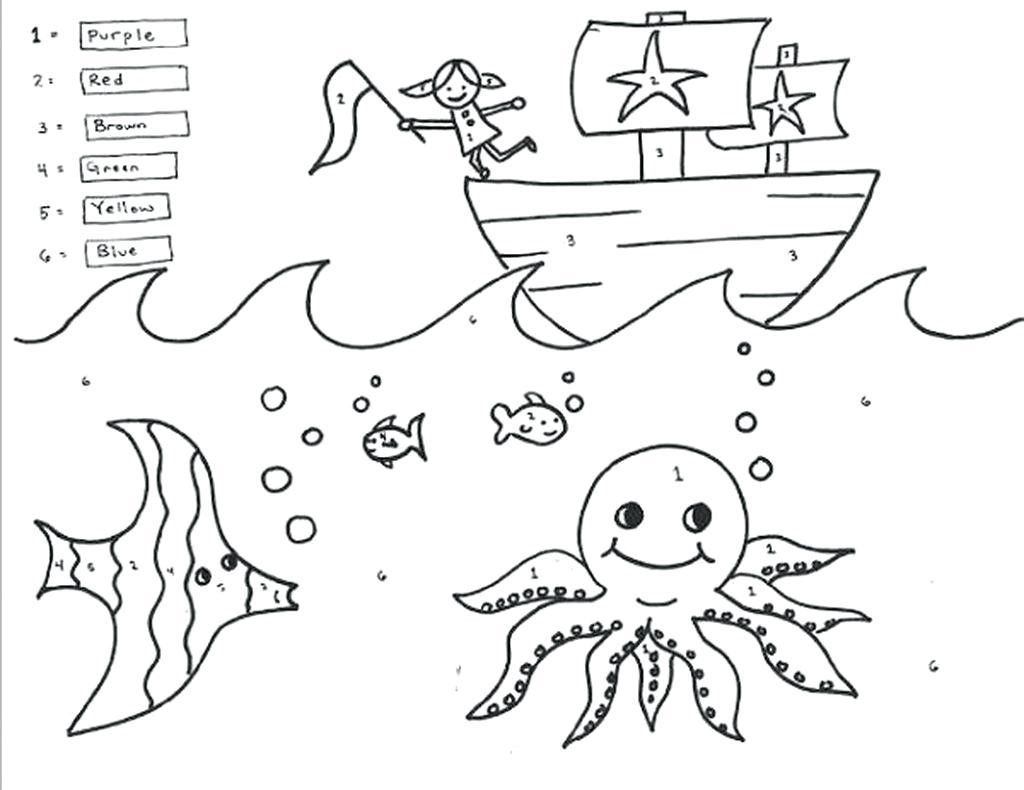 Thanksgiving Worksheets First Grade Coloring Page