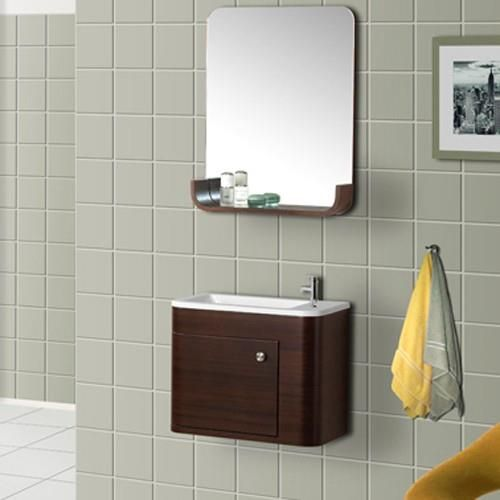 Attractive DreamLine Wall Mounted Modern Bathroom Vanity Set   DRL DLVRB 318 WN Nice Design