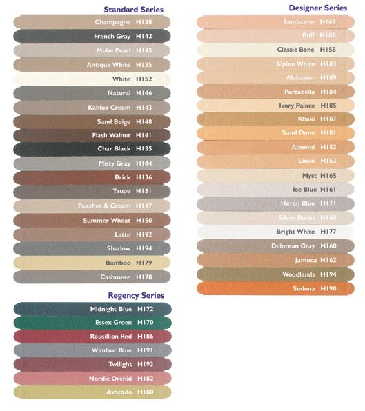Pool Bathroom Colors: Grout Colors - Google Search