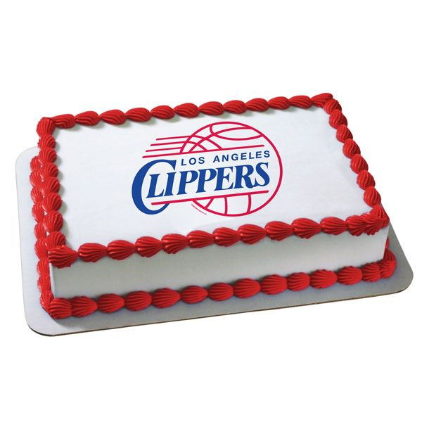 Los Angeles Clippers Cake 1 Places to Visit Pinterest Los