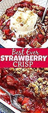 #aux #crisp #fraises #cakesdessertauxfraises Strawberry Crisp Recipe {Le MEILL …