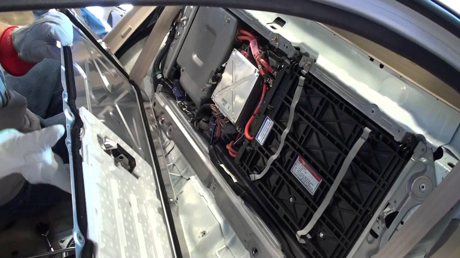 Honda Civic Hybrid Battery Removal Honda Civic Hybrid Hybrid Car Toyota Prius Hybrid