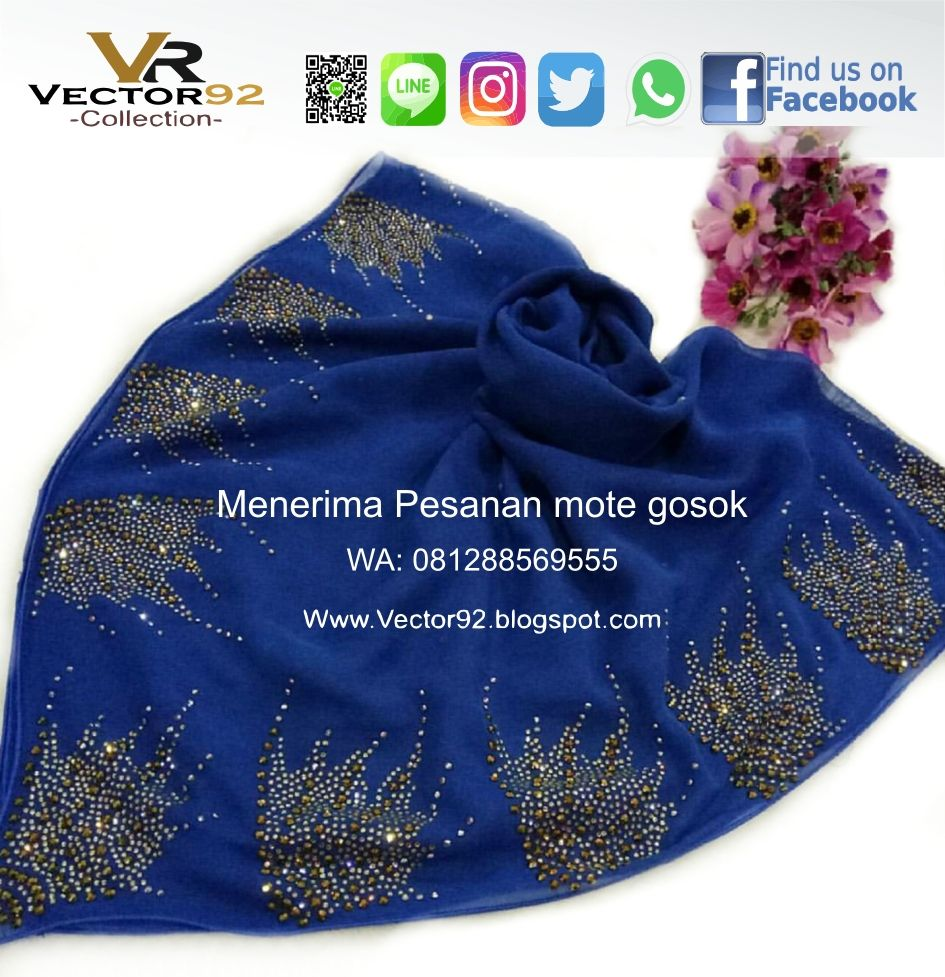 Vector11 Collections  Kerudung, Payet