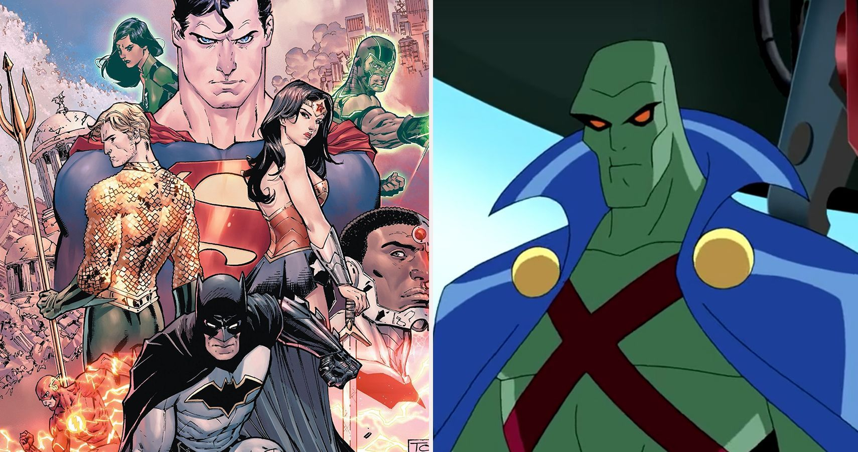 Dc Ranking The Top 10 Members Of The Justice League By Personality The Justice League Represen Dc Comics Superheroes Justice League Original Justice League
