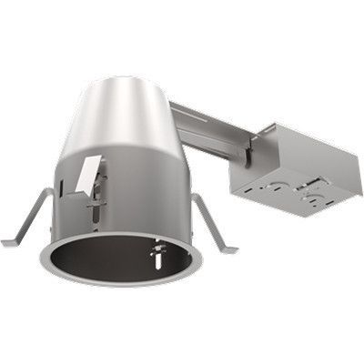 6 pieces 4 remodel led can air tight ic housing led recessed four bros lighting led 4 rm ic6pk 4 in led remodel recessed lighting line voltage housing pack of 6 for use in insulated ceilings or non insulated aloadofball Images