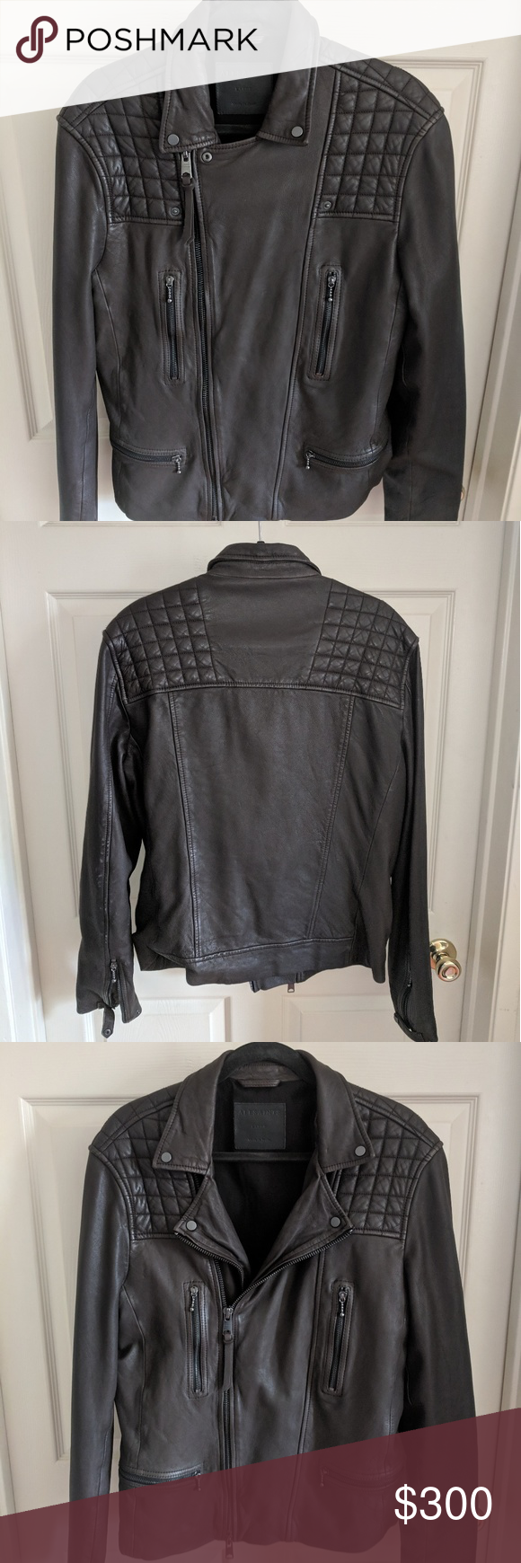 All Saints Leather jacket NWT (With images) All saints