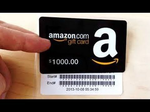 How To Get 1000 Amazon Gift Card For Free With Images Amazon