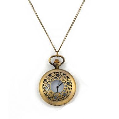 Hollow out style with circle face shape. Bronze retro design. Material: Metal *Free Shipping on Orders Over $69 - $9.99