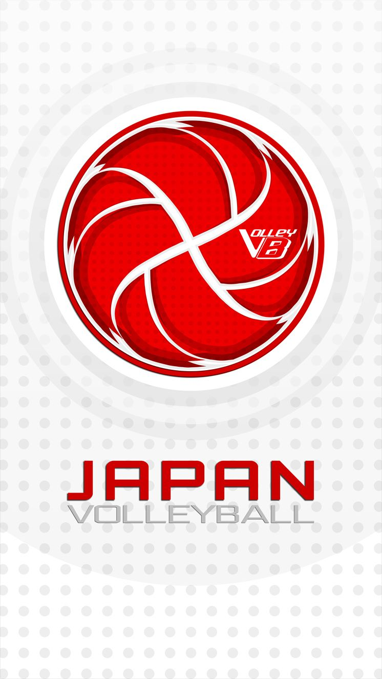 Japan 01 Volleyball Mobile Wallpaper Volleyball Chicago Cubs Logo Sport Team Logos