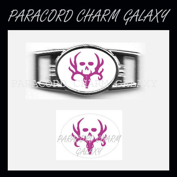 Shoelace Charm for Paracord Bracelets /& Much More Qty 10 Oval Charms Custom Stainless Steel Paracord Charm Bracelet Charm