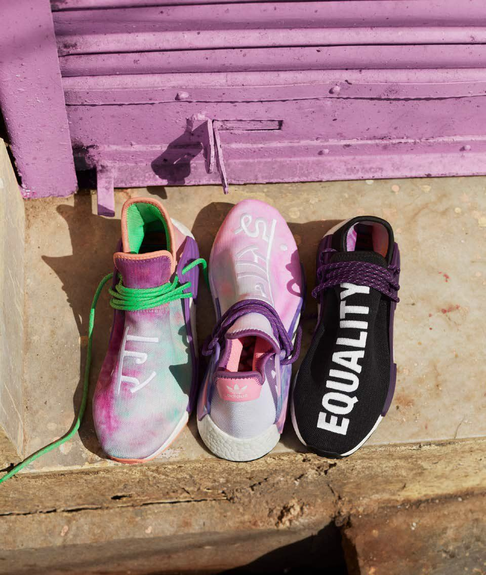 "f807184a143ee1 ... The Pharrell x adidas NMD Hu ""Holi Festival"" Pack Releases On March  16th tough ..."