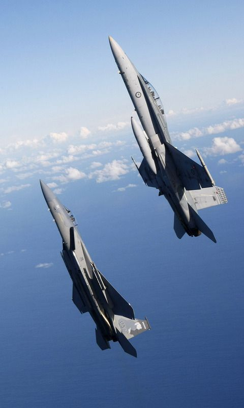 F C Eagles flies Over Okinawa Wallpapers in jpg format for free