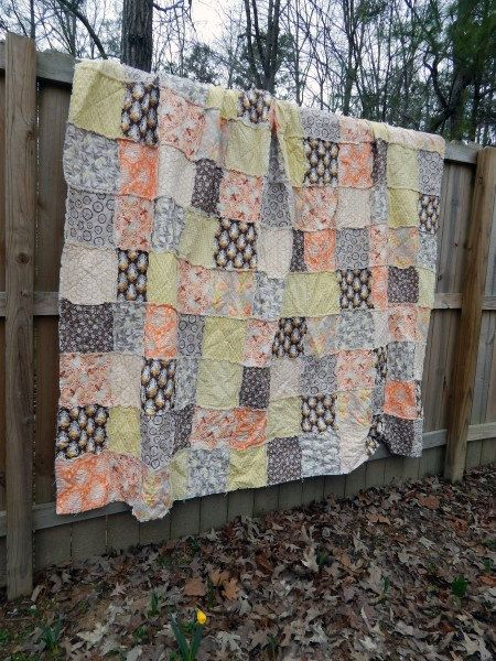 Queen Quilt King Quilt Rag Quilt YOU CHOOSE by SouthernCharmQuilts