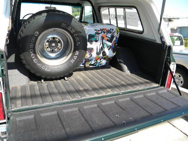 31x10 50 First Generation K5 Blazer Inside Spare Tire Mount K5