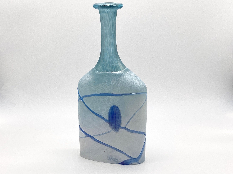 Scandinavian Art Glass Bud Vase Kosta Boda Galaxy Series Etsy In 2020 Scandinavian Art Glass Art Bud Vases