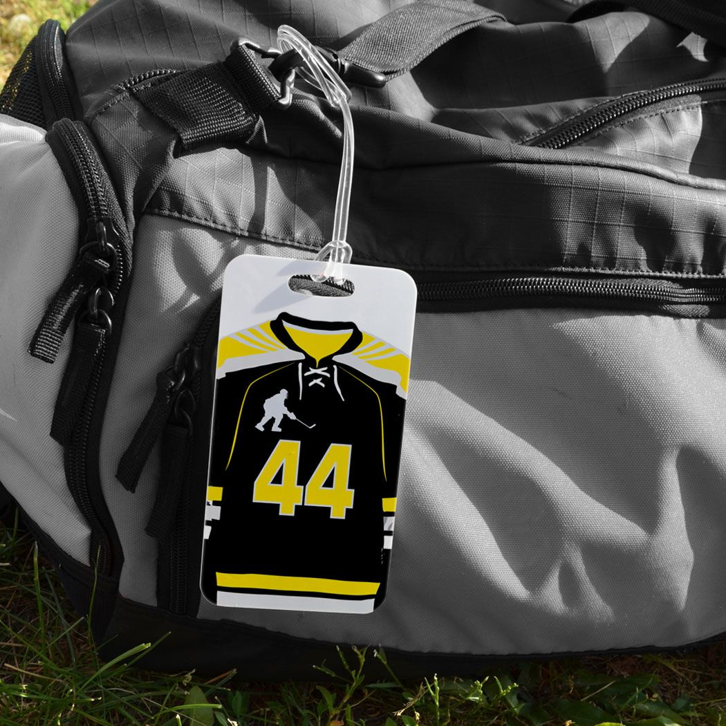 Hockey Bag Luggage Tag Personalized Hockey Jersey Hockey Bag Bags Luggage Bags