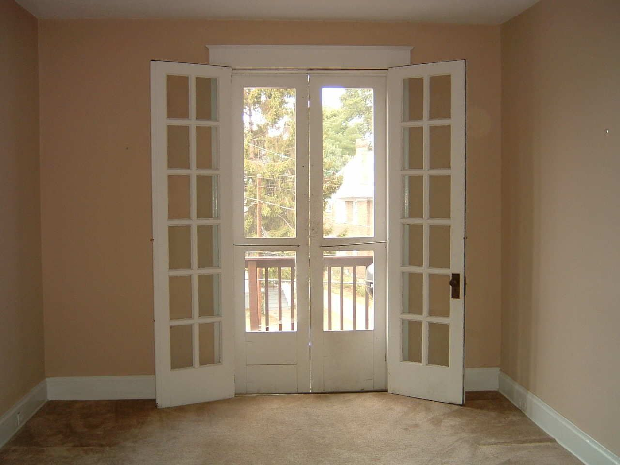 There S My French Doors I Forgot About The Screened Doors