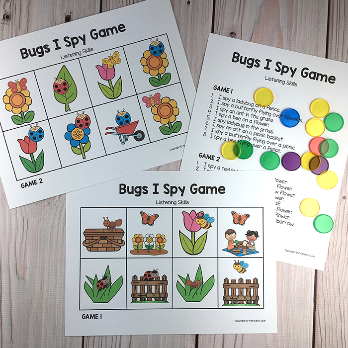 Bugs and Insects Comprehension Activity | Pinterest | Circle time ...