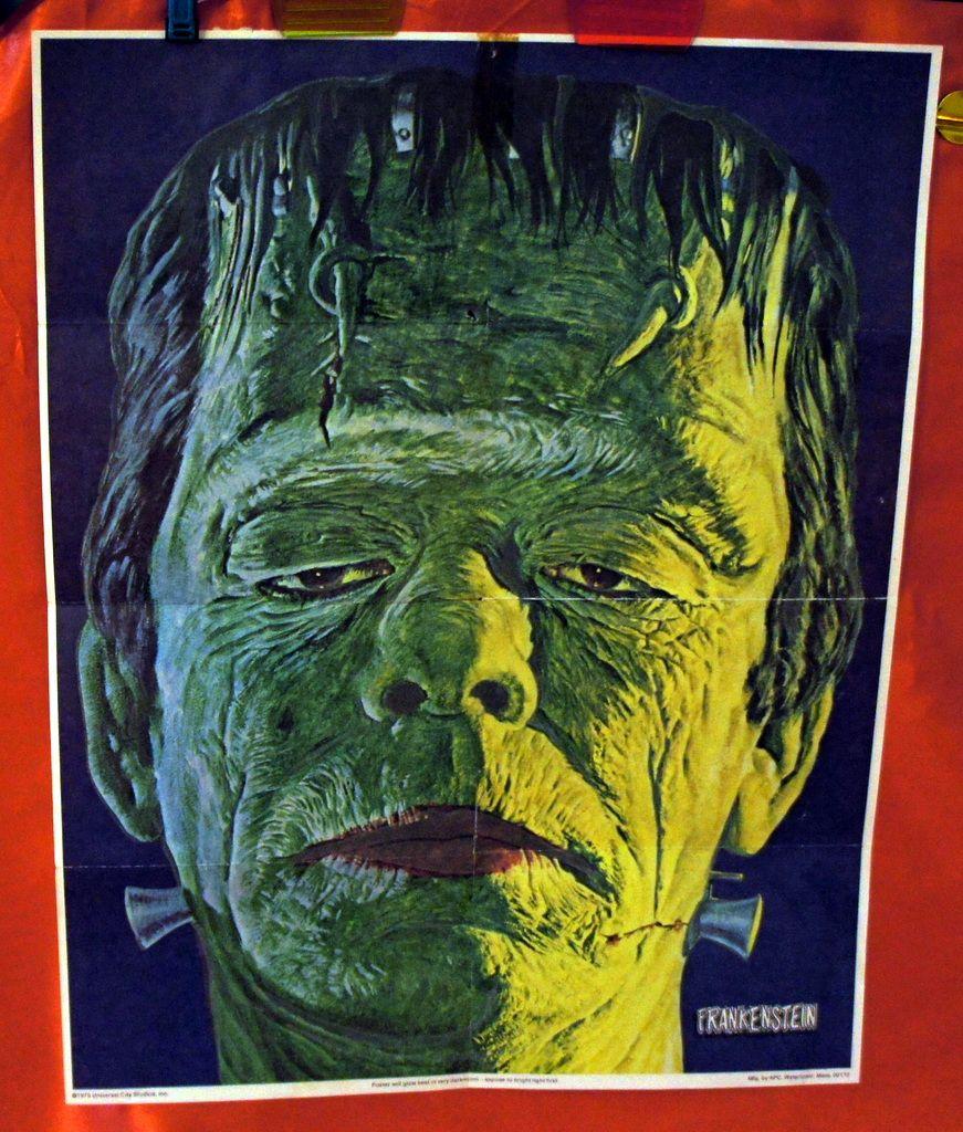 Frankenstein Post Sugar Crisp Cereal Glow In Dark
