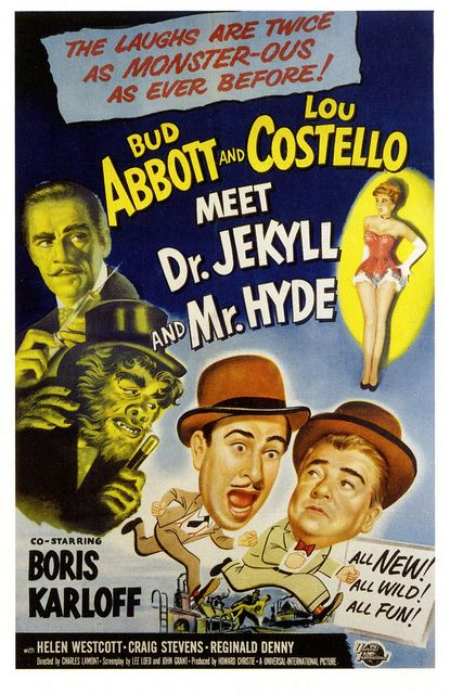 Monsterous Laffs Abbott And Costello Jekyll And Mr Hyde Movie