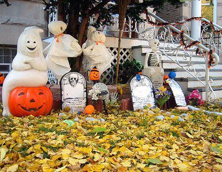 90 frescos de Halloween al aire libre Ideas de decoración | DigsDigs